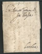 Belgium - Corsini 1594 Entire letter dated 26th May from the heirs of Filippo Luchini