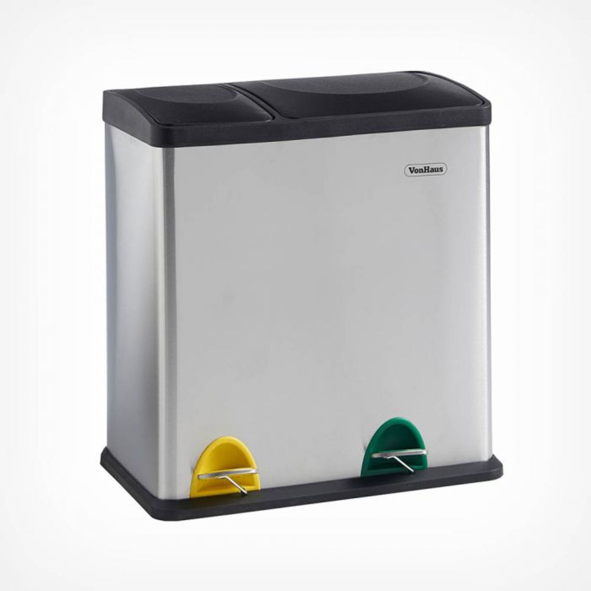 Lot 332 - (V101) 6L 2 in 1 Recycling Bin Streamline your recycling routine! Suitable for general househo...