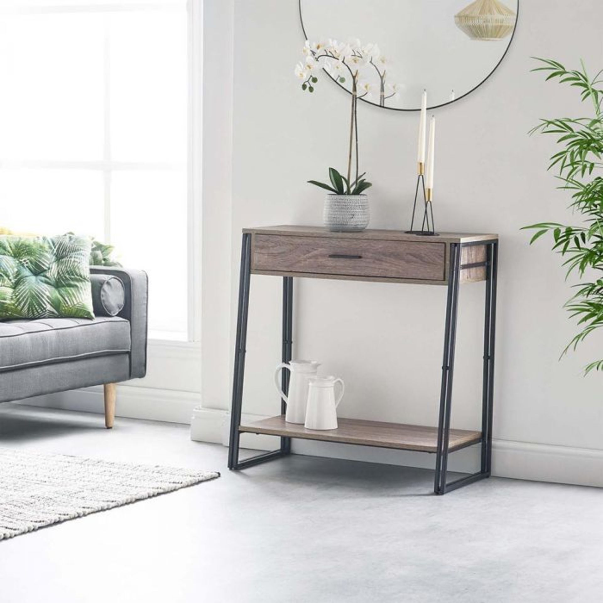 Lot 412 - (S446) Rustic Console Table Handy console table makes the perfect addition to your hallway Ur...