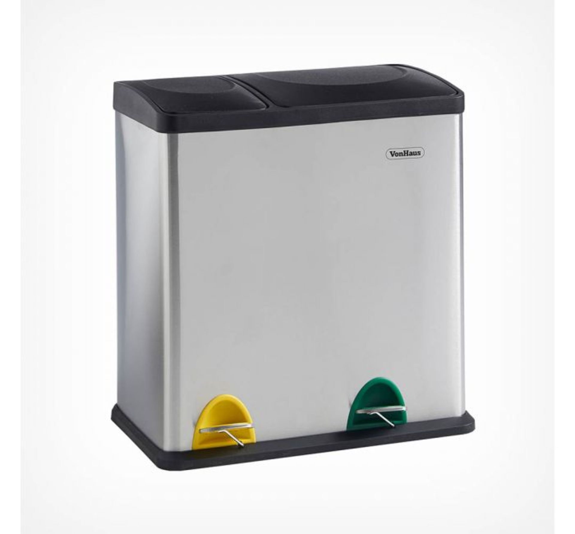Lot 124 - (HZ100) 36L 2 in 1 Recycling Bin Streamline your recycling routine! Suitable for general house...