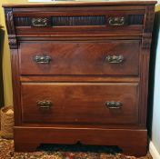 Antiques Hardwood Victorian Bedroom Drawers