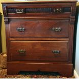 Antiques Hardwood Victorian Bedroom Drawers