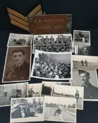 Vintage WWII Military Photographs and Items Includes Eisenhower in Reims