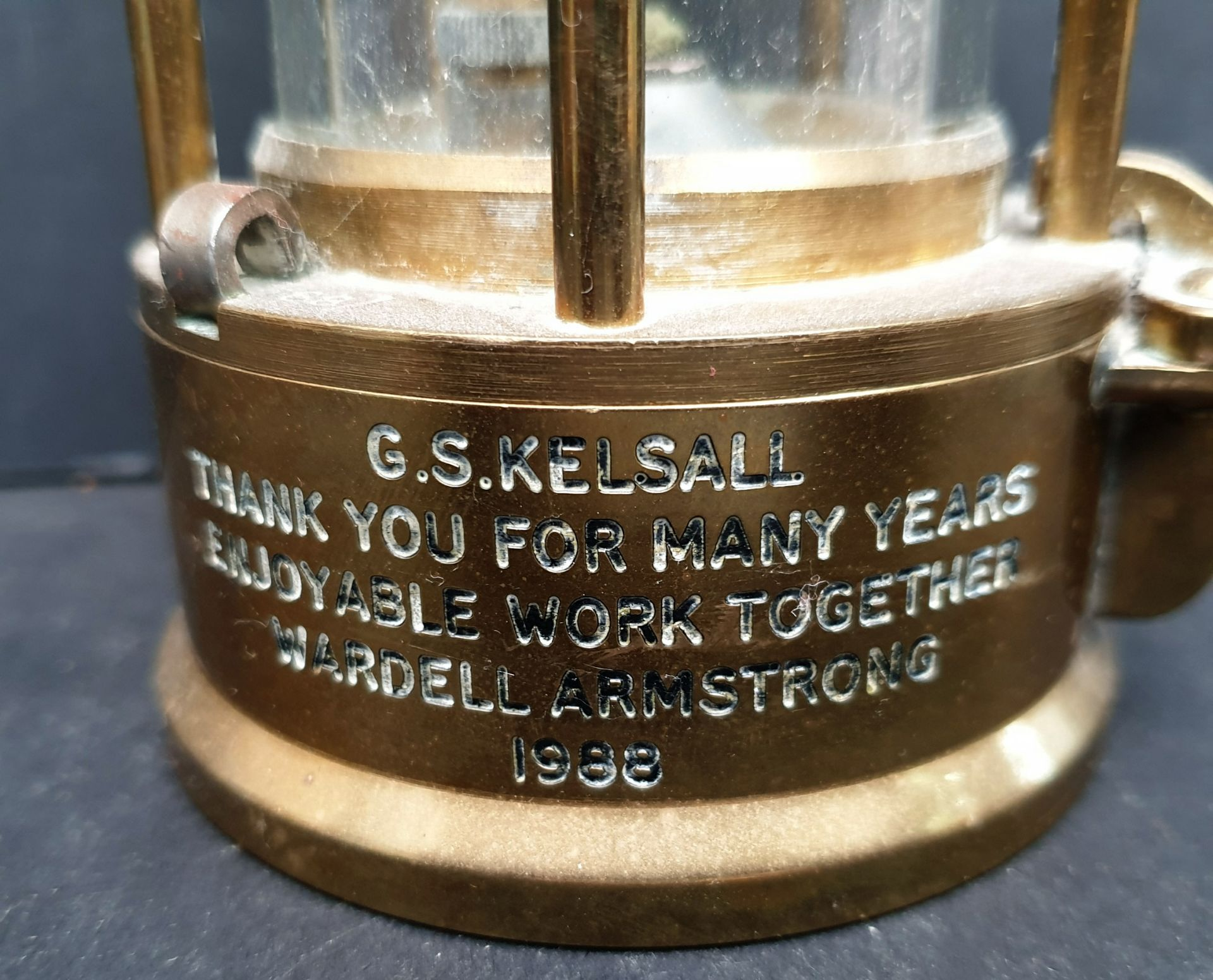 Vintage Eccles Miners Lamp No.6 - Image 3 of 4