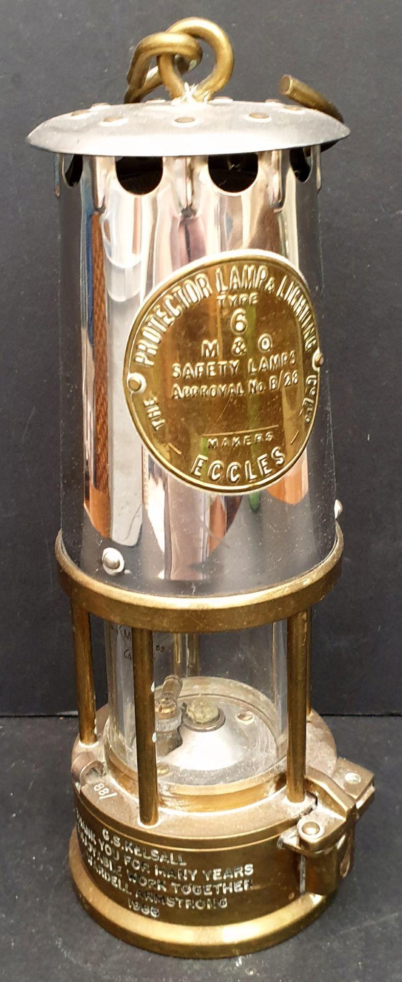 Vintage Eccles Miners Lamp No.6