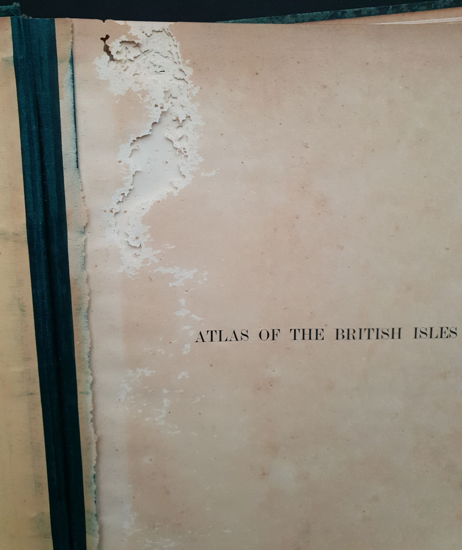 Antiques 1899 Book Atlas Of The British Isles G W Bacon & Co. - Image 7 of 15