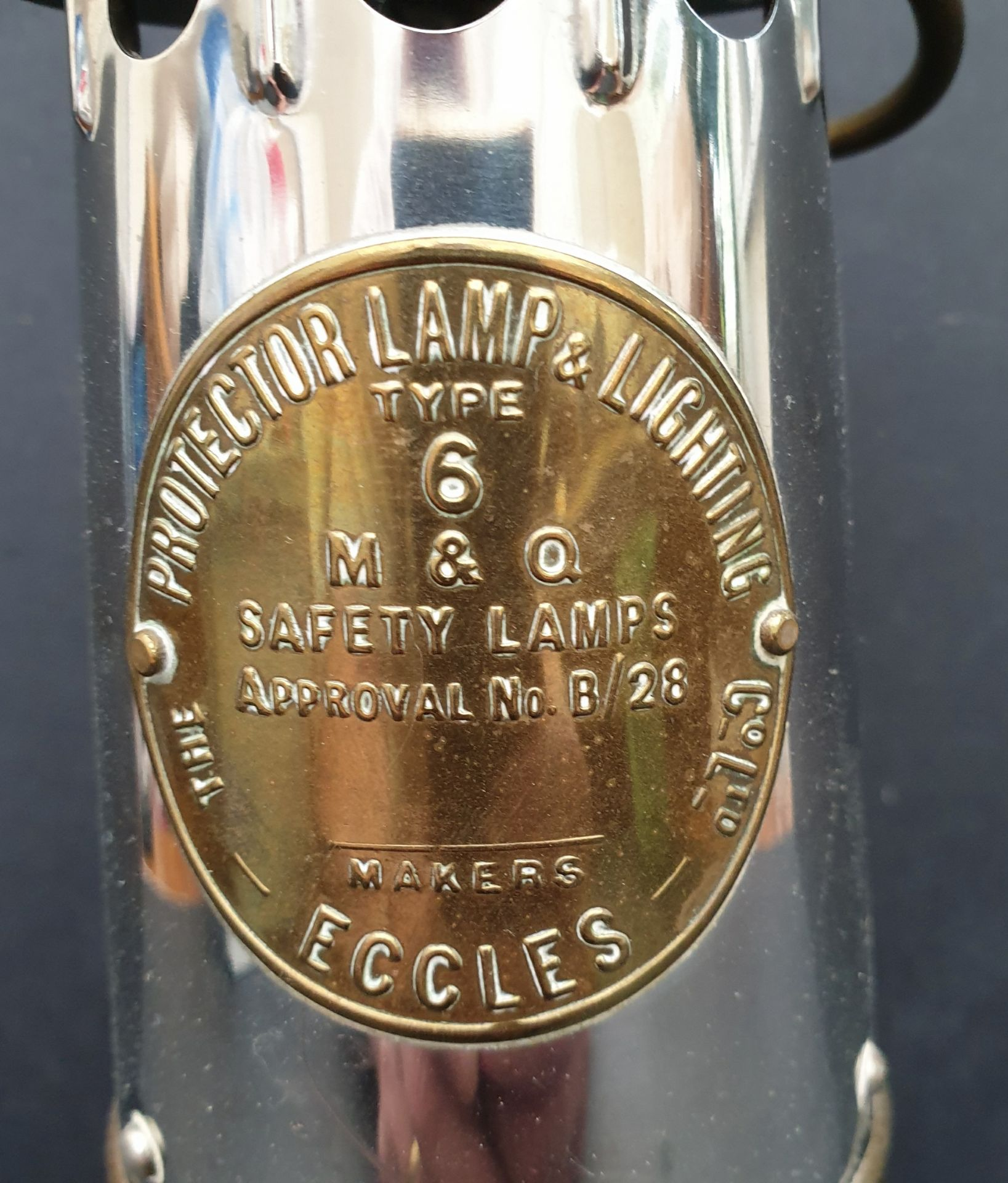 Vintage Eccles Miners Lamp No.6 - Image 2 of 4