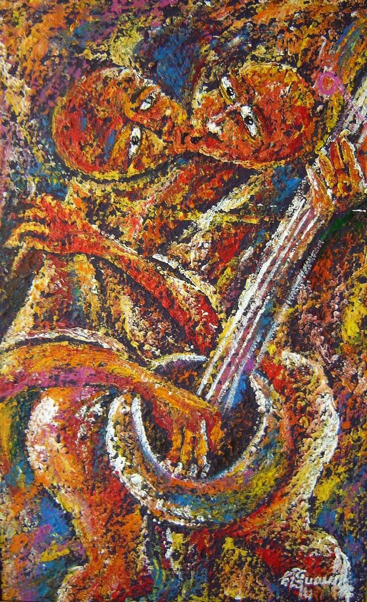 Lot 24 - Musical Theme Artwork