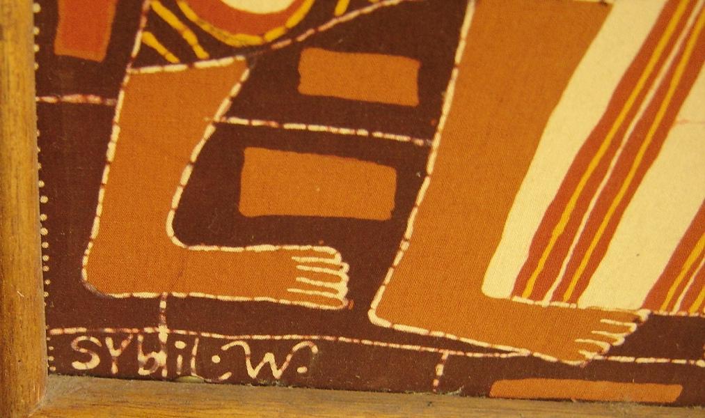 Lot 20 - Signed Southeast Asia Batik