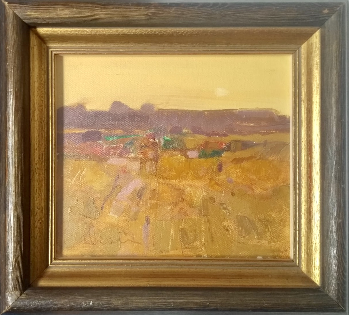 Lot 11 - George Devlin. 'Evening'. Signed Oil Painting