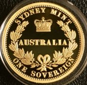 2005 Australia Gold Proof Sovereign