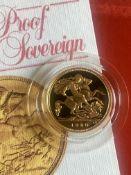 United Kingdom 1980 Gold Proof Half Sovereign