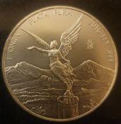 2016 MEXICO LIBERTAD 1 OZ .999 FINE SILVER COIN