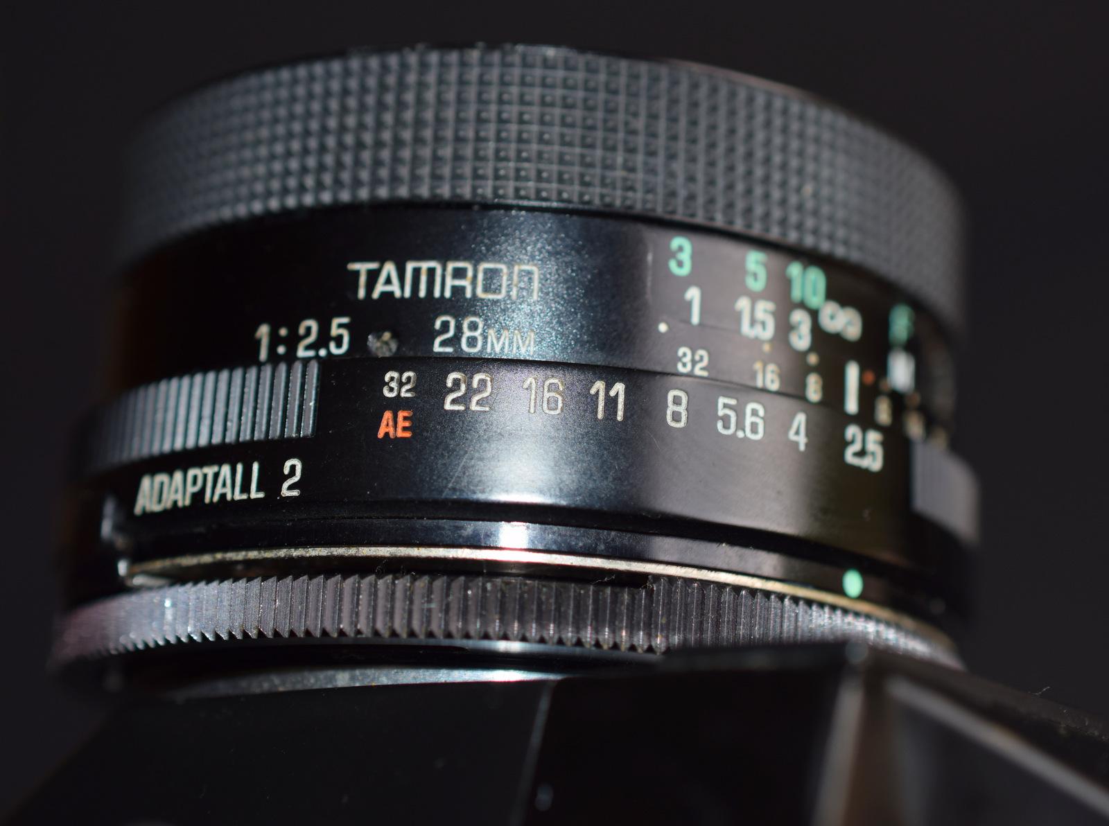Lot 16 - Zenit EM 35mm Camera With Tamron 28mm 1:2.5