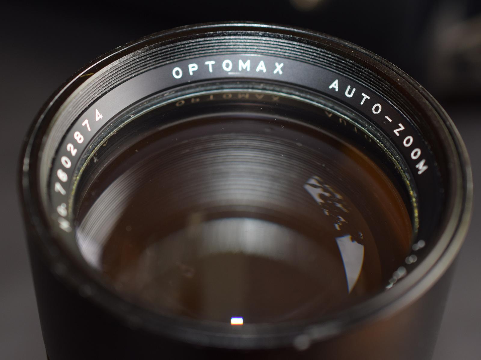 Lot 38 - Optomax Auto Zoom 85-205mm 1:3.8 M42 Mount Lens