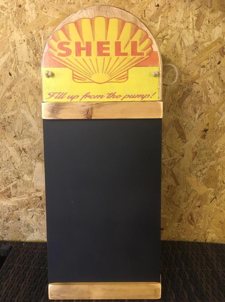 Lot 1 - Shell Oil Blackboard