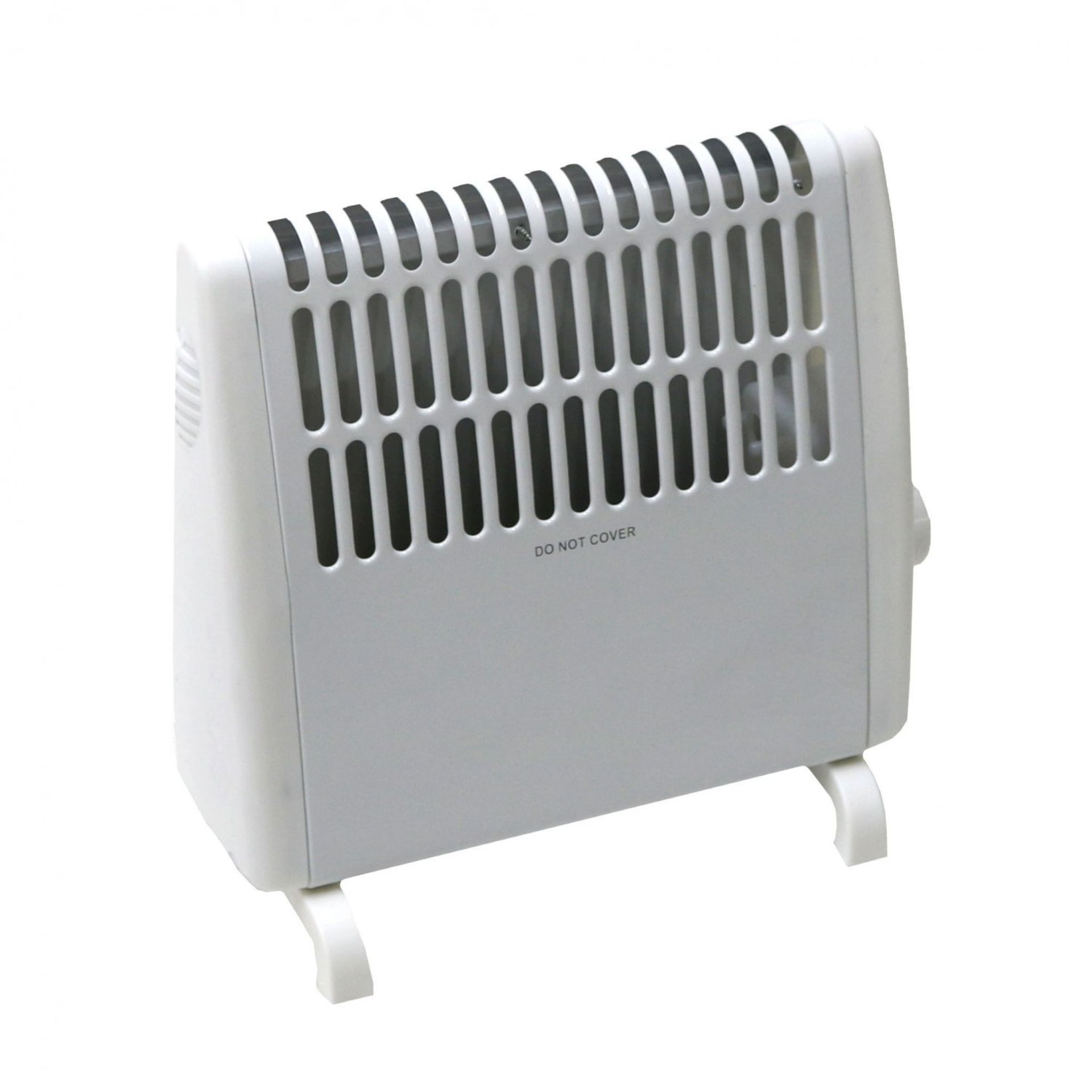 Lot 35 - (RU25) 450W Frost Electric Convector Heater Free Standing. 450W Frost Electric Convector Heater...