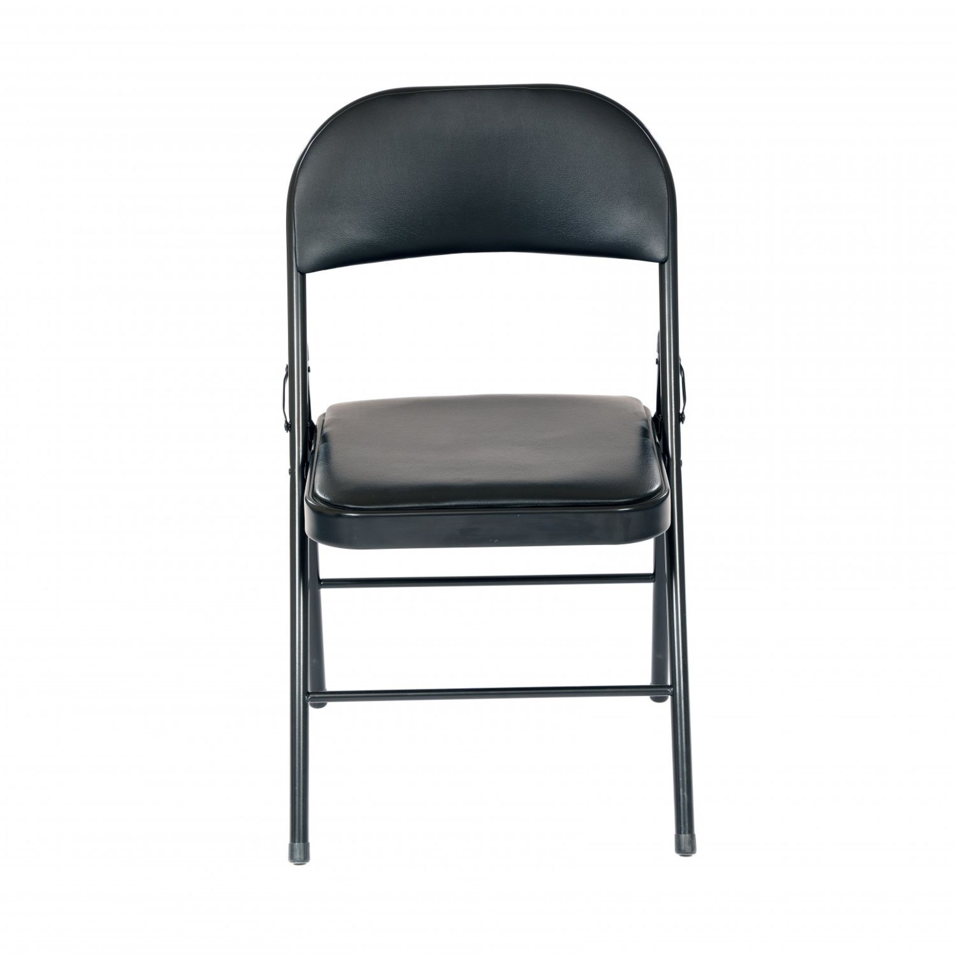 Lot 437 - (RU373) Heavy Duty Padded Folding Metal Desk Office Chair Seat The folding seat is incredibl...