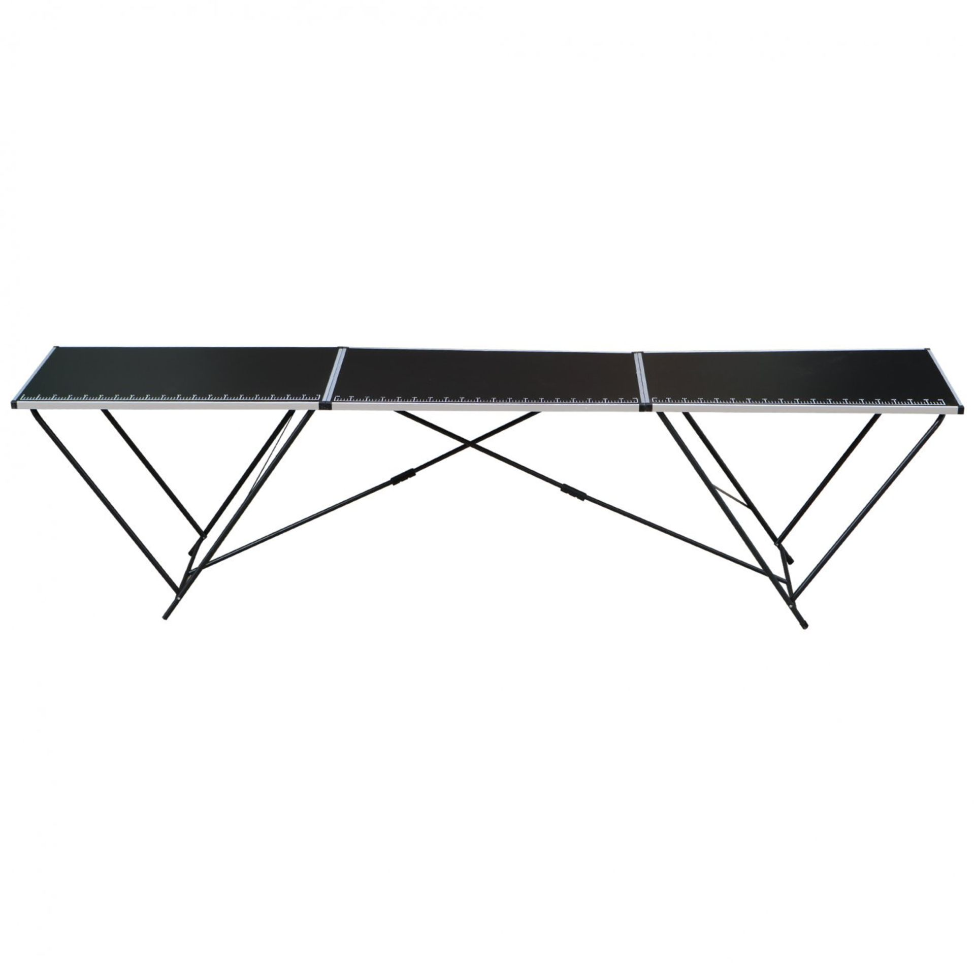 Lot 207 - (SK124) 3m Aluminium Folding Wallpaper Pasting Decorating Table The pasting table is ideal f...