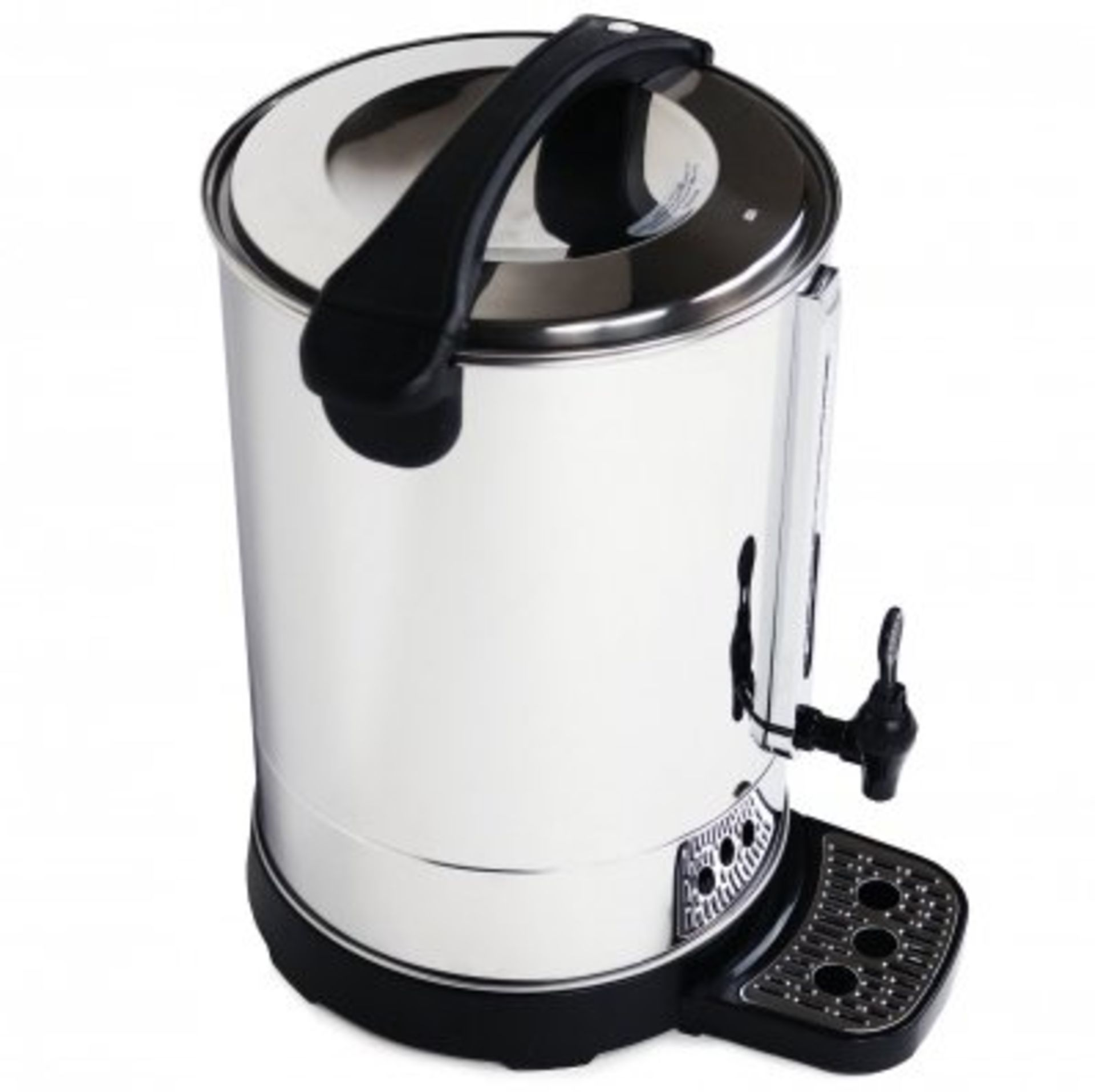Lot 21 - (RU14) 20L Catering Hot Water Boiler Tea Urn Coffee Manufactured from robust stainless steel...