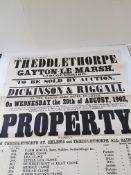1902 Original Auction Poster