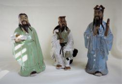 Set 3 Oriental Porcelain Figurines