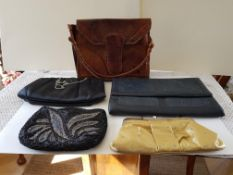 Vintage Hand And Evening Bags And Purse