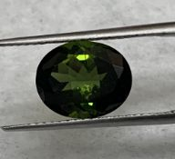 Green Tourmaline, 3.72 Ct