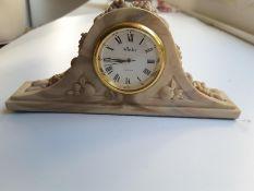Aynsley Portlandware Miniature Clock