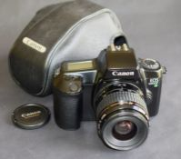 Canon Eos 1000F N With Canon Ultrasonic Ef Zoom 35-80Mm