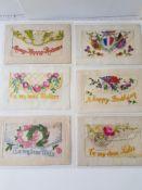 Ww1 Silk Postcards