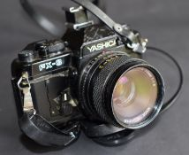 Yashica Fx-3 35Mm Camera