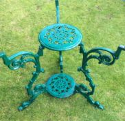 Victorian Garden Decorative Table Base Steel
