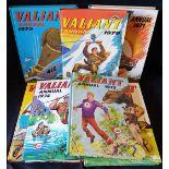 Vintage 8 x Valiant Annuals 1970 to 1977