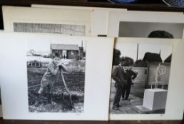 Vintage Collection of 10 Large Black & White Exhibition Photographs Assorted Subjects 1960's