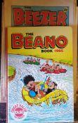 Vintage Comics 3 x Beano & 1 x Beezer 1990 Plus 1 x Annual