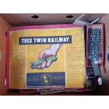 Vintage Box of Assorted Model Railway Parts & Buildings Includes Hornby Wren Meccano & TTR