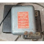Vintage 3 x Model Railway Power Units