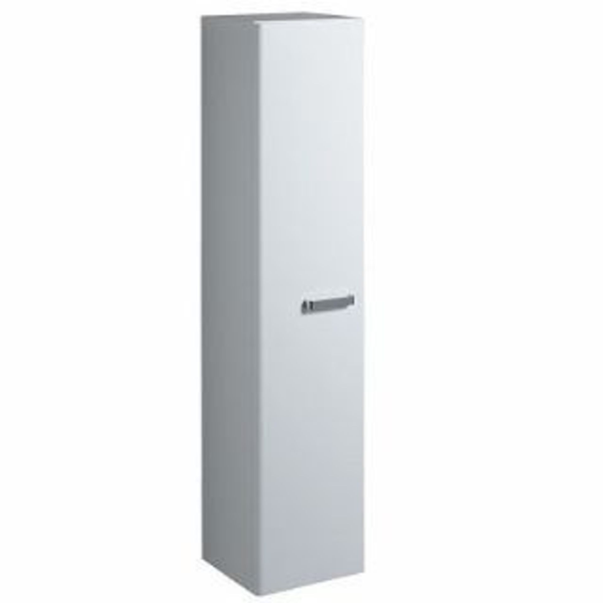 Lot 669 - (QL118) Twyford 1730mm White Tall Furniture Unit. RRP £863.99.White gloss finish Wall mounted...