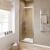 Twyfords 800mm - 6mm - Premium Pivot Shower Door. RRP £299.99.8mm Safety Glass Fully waterproo...