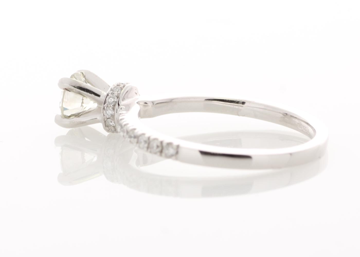 Lot 20 - 18ct White Gold Diamond Ring 0.73 Carats