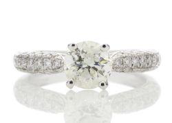 White Gold & Platinum Certified Diamond Jewellery