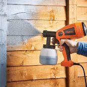 (JH18) Spray Gun/Paint Sprayer for Fences Walls and Ceilings 400W Motor, Large 800 ml Paint Co...