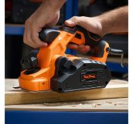 (JH16) 900W Electric Hand Planer Ideal for fixing doors, fitting wood and correcting splinters...