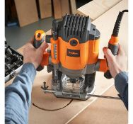 (JH26) 1600W Router Make easy work of all carving tasks, including routing, polishing, contour...
