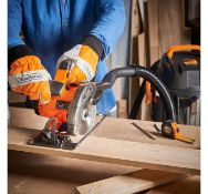 (JH5) 20V Max Circular Saw 20V Max 2Ah battery included is compatible with other tools in the ...