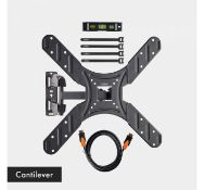 (JH24) 20-50 inch Full Bundle Cantilever TV bracket Please confirm your TV's VESA Mounting D...