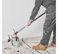 (JH23) Long Reach Paint Roller Spatter shield attaches to the roller to catch any drips, splas...