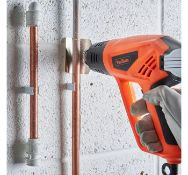(JH56) 2000W Heat Gun Ideal for DIY projects, bending copper pipes, loosening rusted bolts, li...