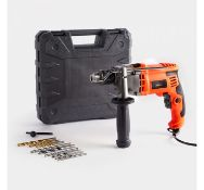 (DD69) 850W Impact Hammer Drill Hammer function for drilling into concrete and brickwork. Drill...